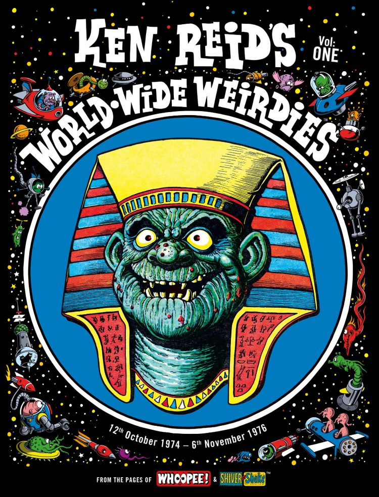 KEN REID: WORLD WIDE WEIRDIES VOL 1 Cover