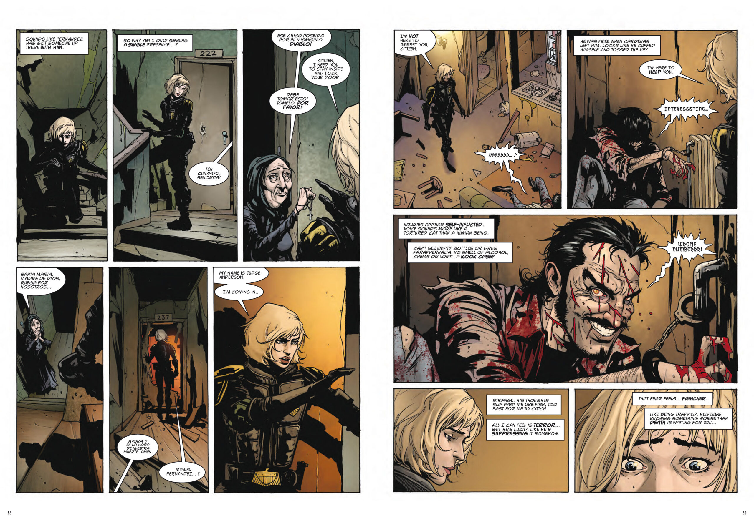 OUT NOW - Dredd/Anderson: The Deep End