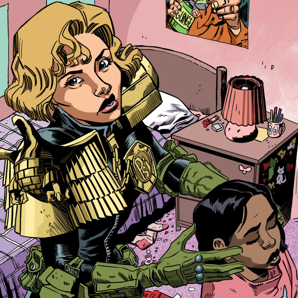 2000 AD Prog 2130: Alec Worley on writing all-ages Judge Anderson