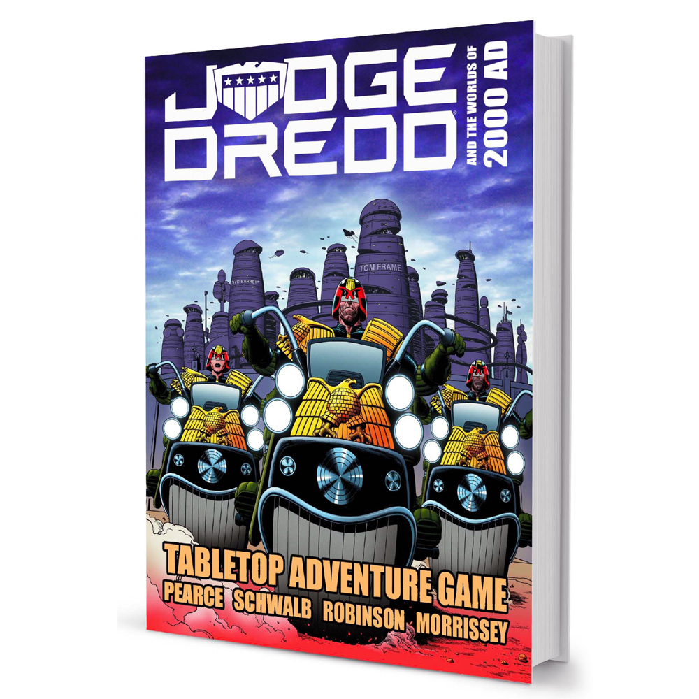 New Judge Dredd and 2000 AD Tabletop Adventure Games announced!