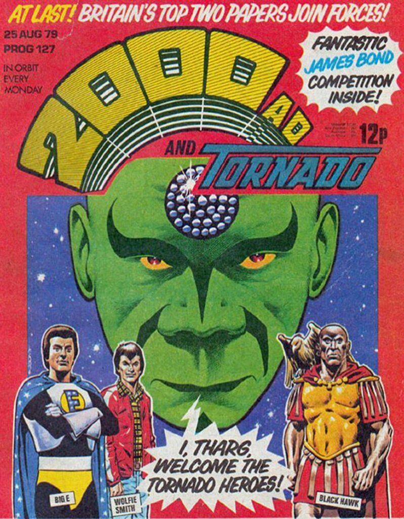 Dave Gibbons - Prog 127 Cover