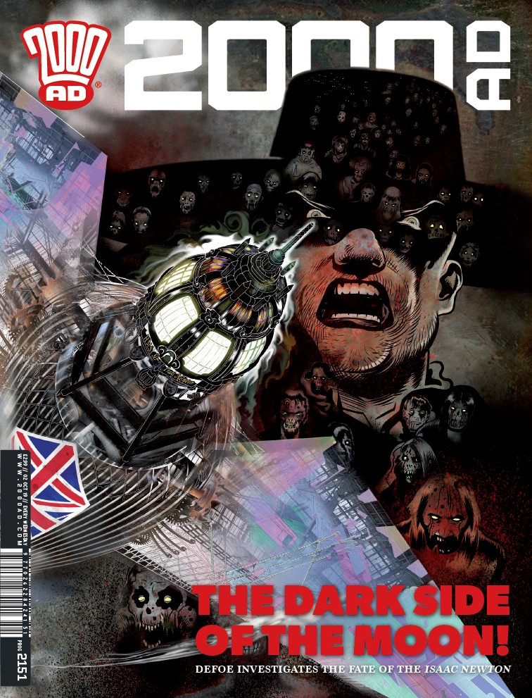 OUT NOW: 2000 AD Prog 2151