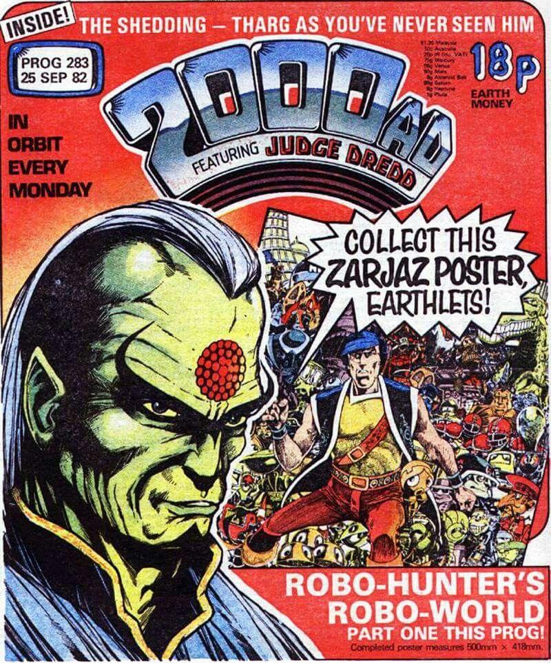 Robin Smith - Prog 283 Cover