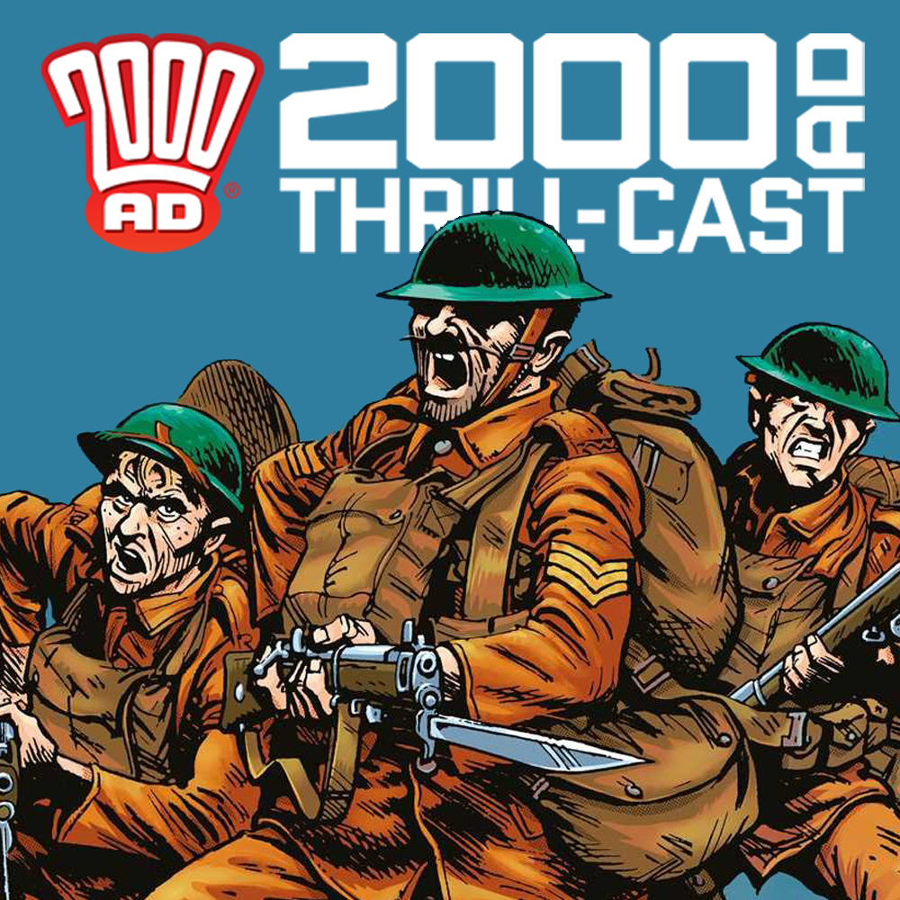 The 2000 AD Thrill-Cast: When Comics Went To War @ NYCC