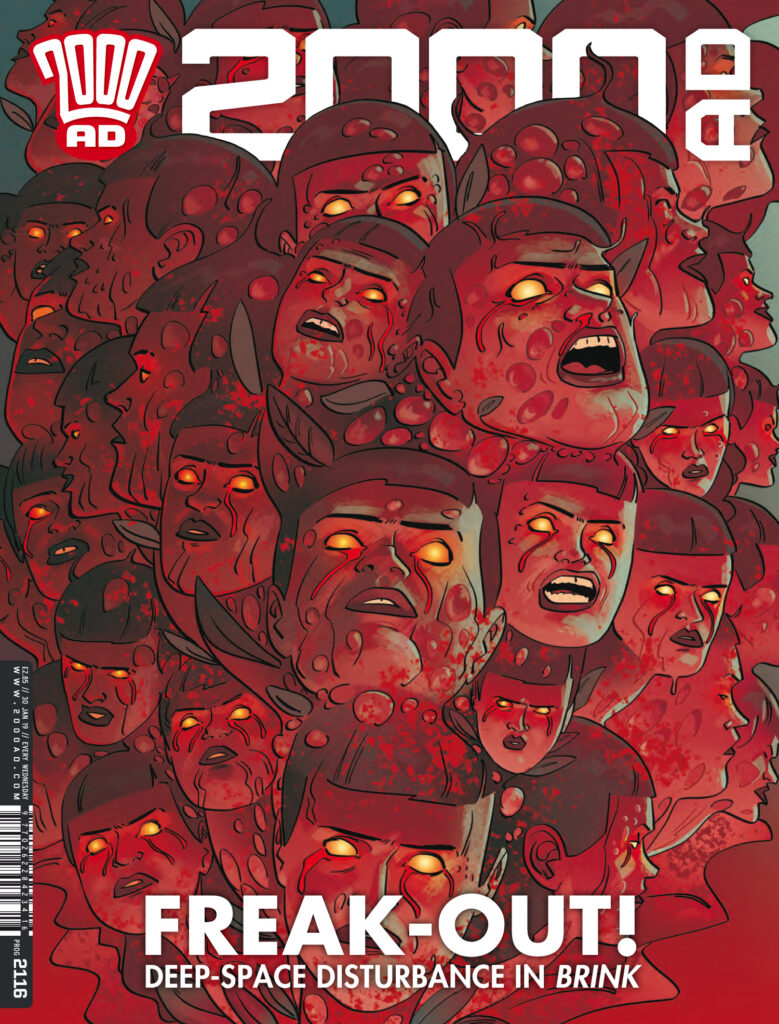 OUT NOW: 2000 AD Prog 2116