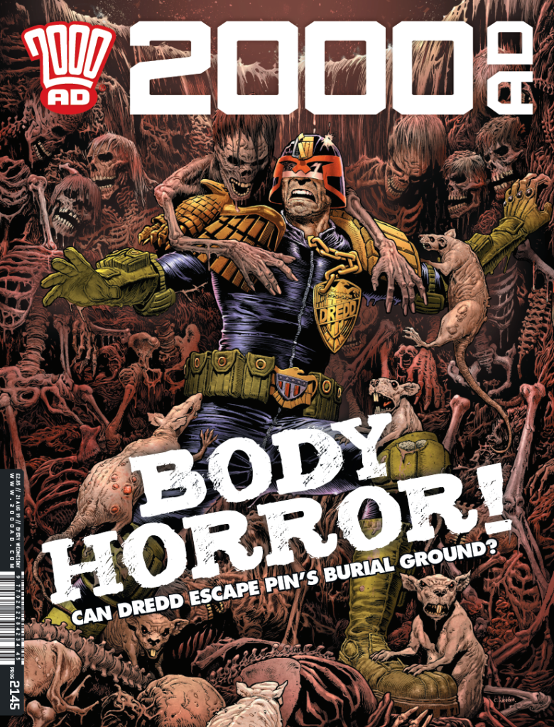 OUT NOW: 2000 AD Prog 2145