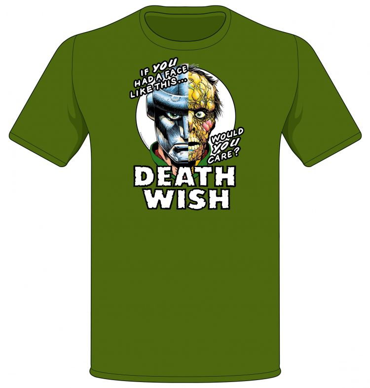 Get the Death Wish T-shirt now!