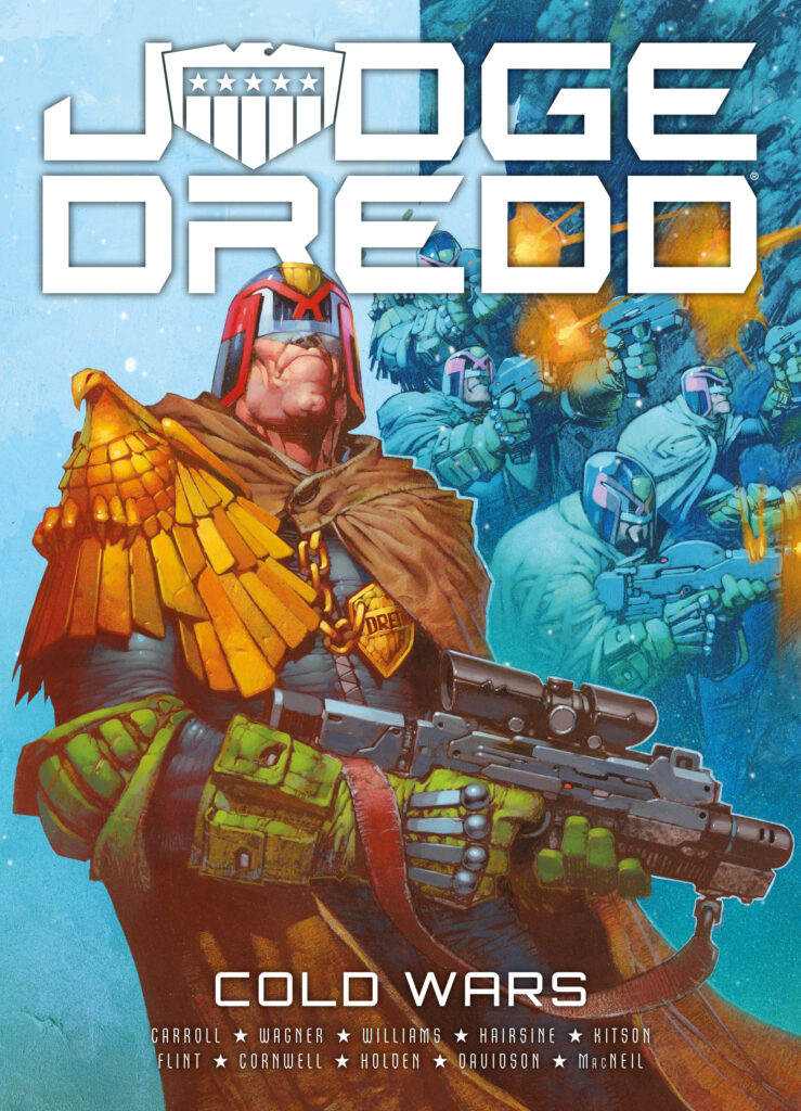 The 2019 graphic novel line-up from 2000 AD and the Treasury of British Comics!
