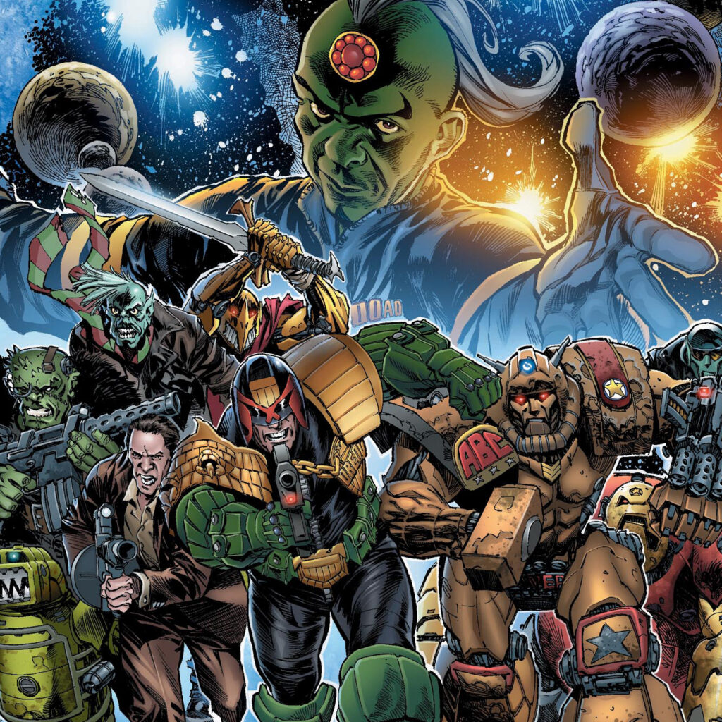 Pre-order 2000 AD's bumper Christmas issue now!