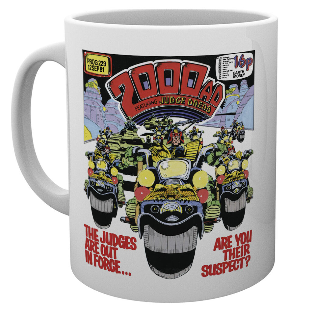 NEW MERCH RANGE: 2000 AD prints, mugs & more!