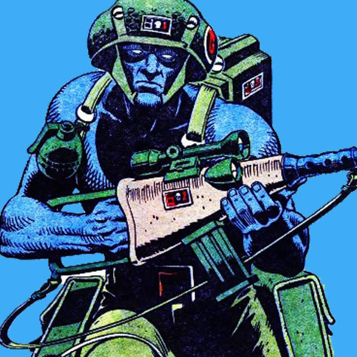 50% off Rogue Trooper collections!