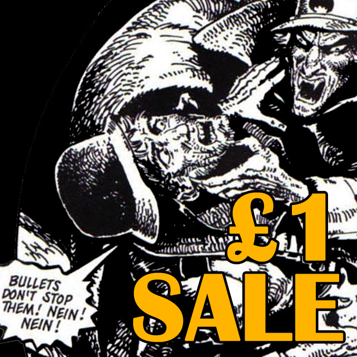 Grab a bargain in the 2000 AD £1 sale!
