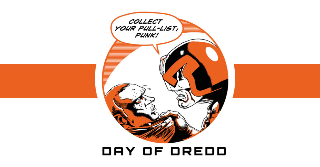 Events announced for The Day of Dredd on 7th September!