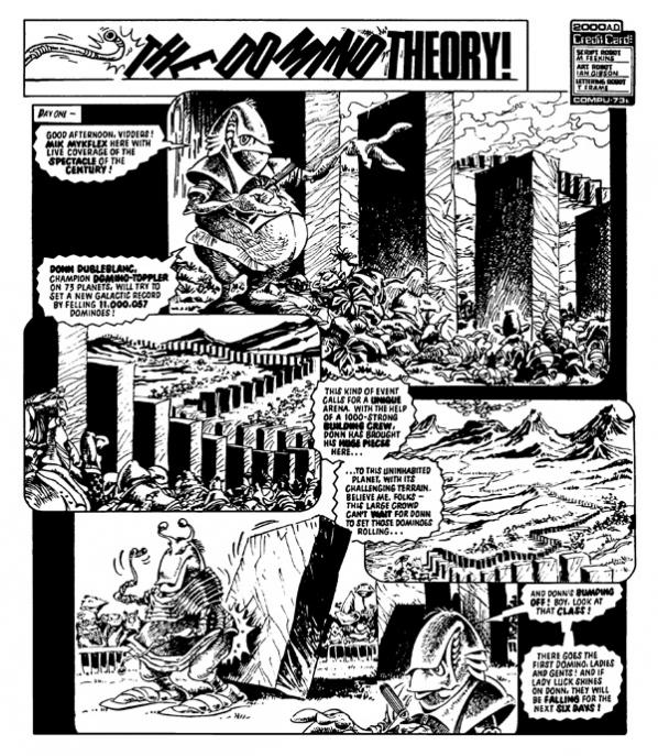 The Mighty MykFlex returns to 2000 AD