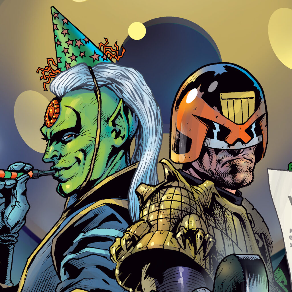 Pre-order the bumper 2000 AD end-of-year Prog!