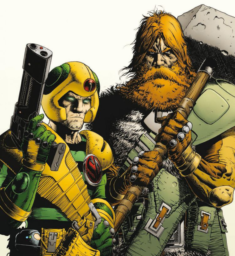 The new 2000 AD Art Stars theme has been announced!