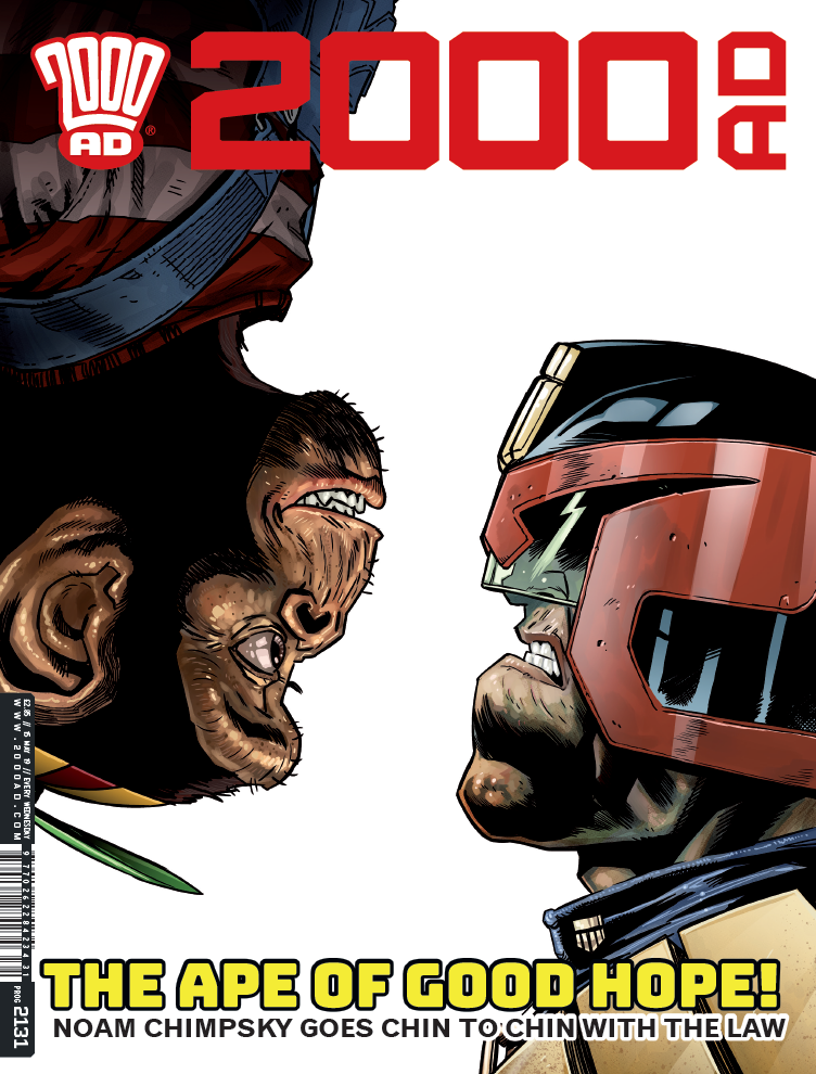 OUT NOW: 2000 AD Prog #2131!
