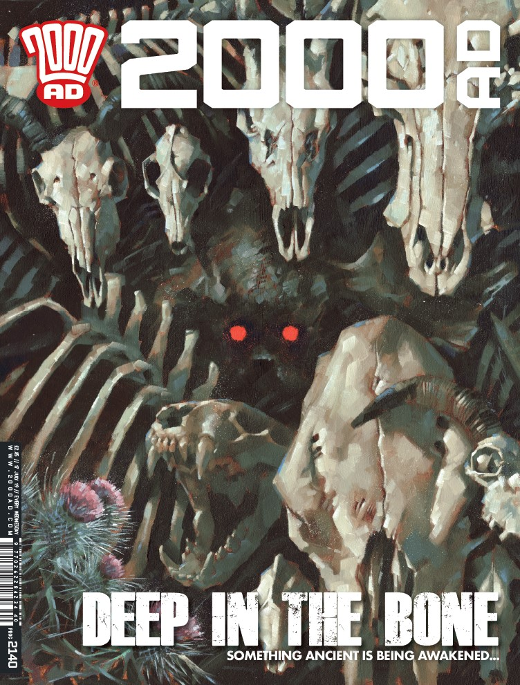 OUT NOW: 2000 AD Prog #2140