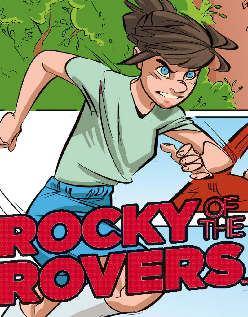 INTERVIEW: Rob Williams & Lisa Henke on Rocky of the Rovers