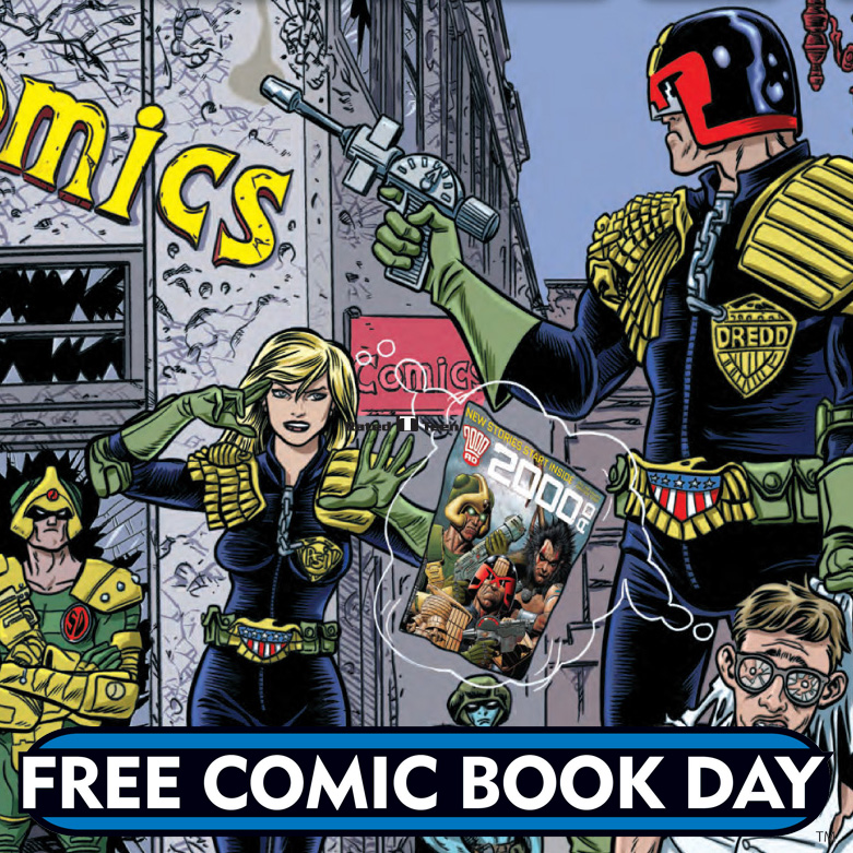 PREVIEW: 2000 AD Free Comic Book Day 2016 edition!