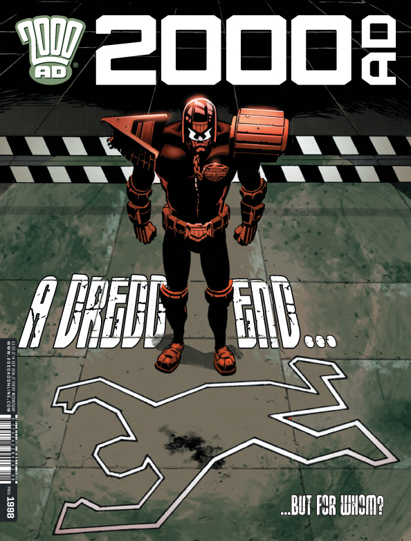 2000AD Covers Uncovered – A Death in the Family?