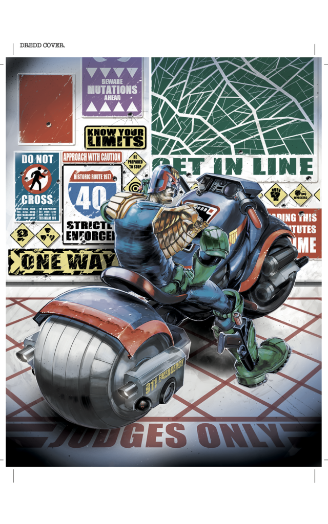 2000AD Covers Uncovered – Road Hog!