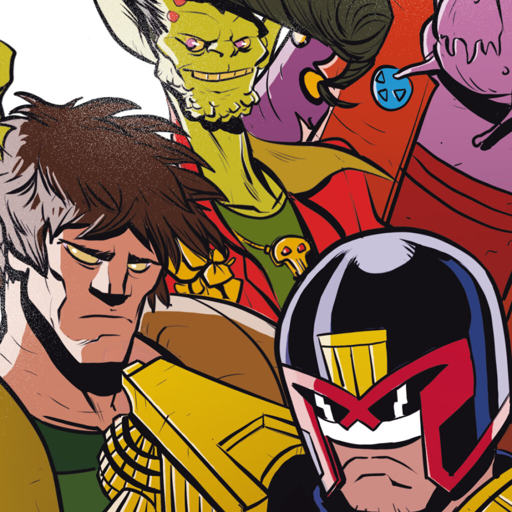 Peek inside 2000 AD's Free Comic Book Day all-ages issue!