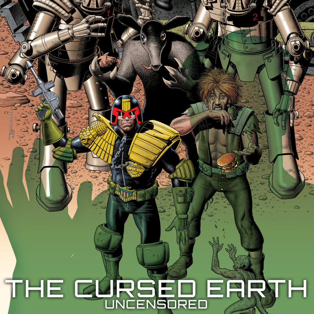 Pre-order 'The Cursed Earth Uncensored' now!