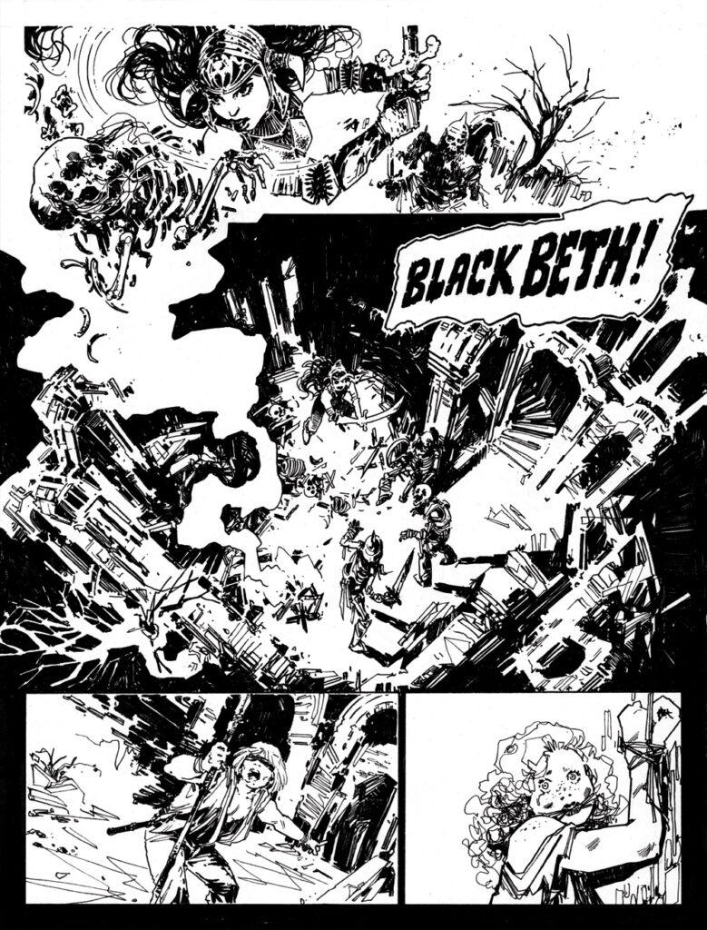 SCREAM! & MISTY SPECIAL: Black Beth
