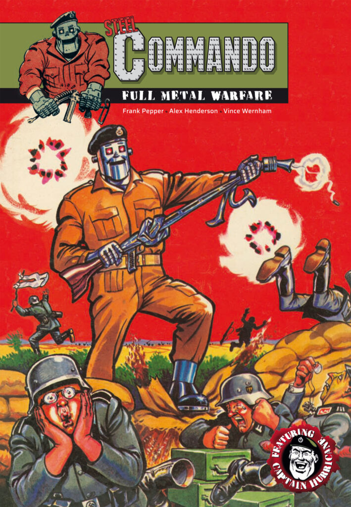 OUT NOW: Steel Commando digest