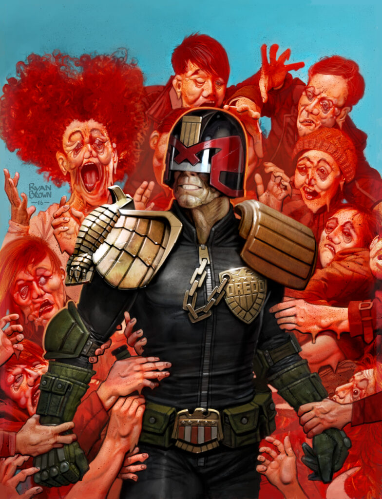"""2000 AD Covers Uncovered – """"Could You Art The Fans, Please!?!"""""""