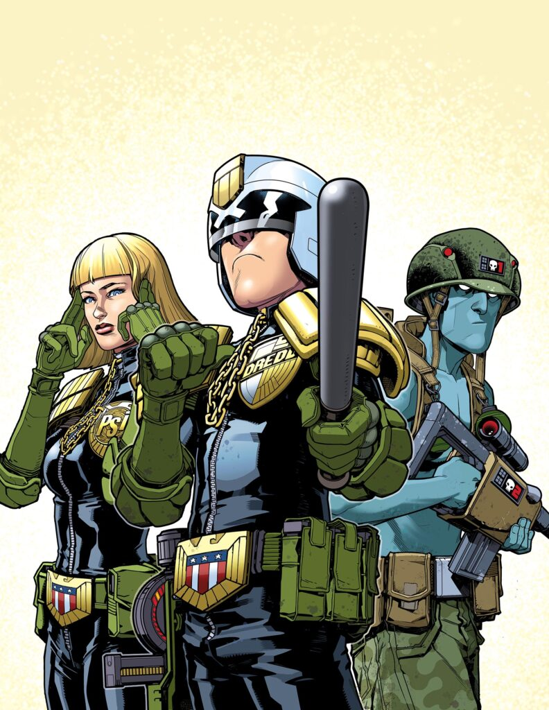 2000 AD Diamond Distribution solicits for May 2019