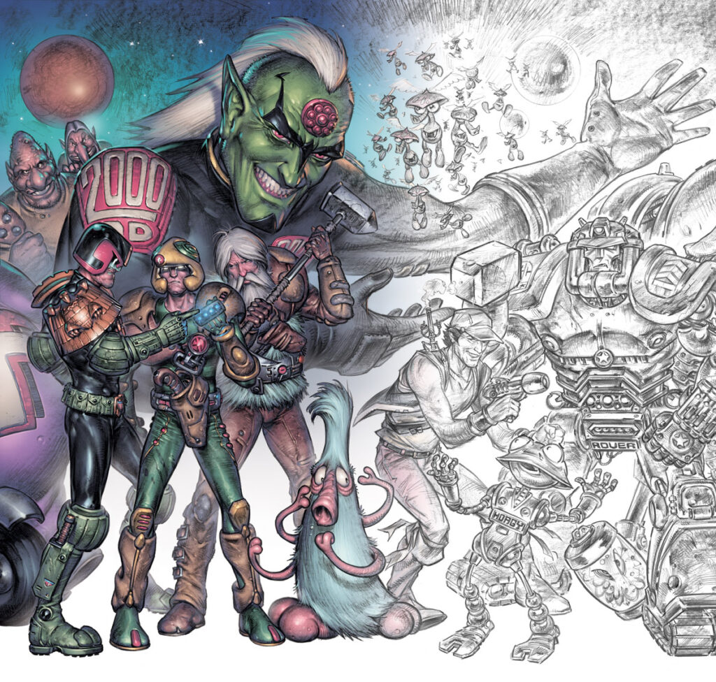 2000AD Covers Uncovered – Spiny Norman!