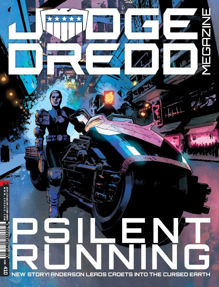 OUT NOW: Judge Dredd Megazine #410