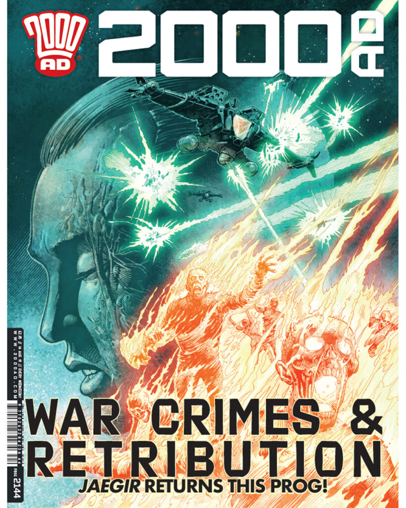 OUT NOW: 2000 AD Prog 2144