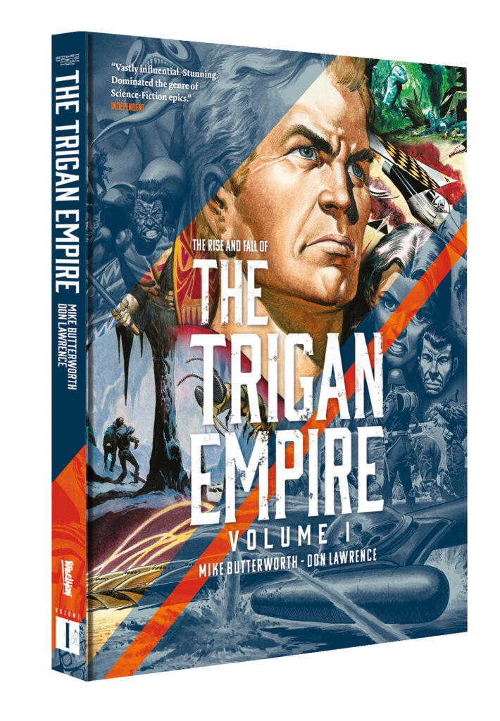 The Rise and Fall of the Trigan Empire limited hardcover announced – for a limited time only!