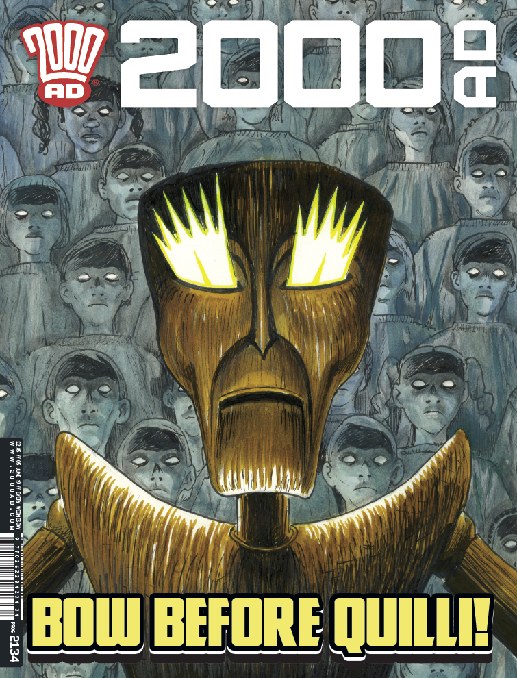 OUT NOW: 2000 AD Prog 2134