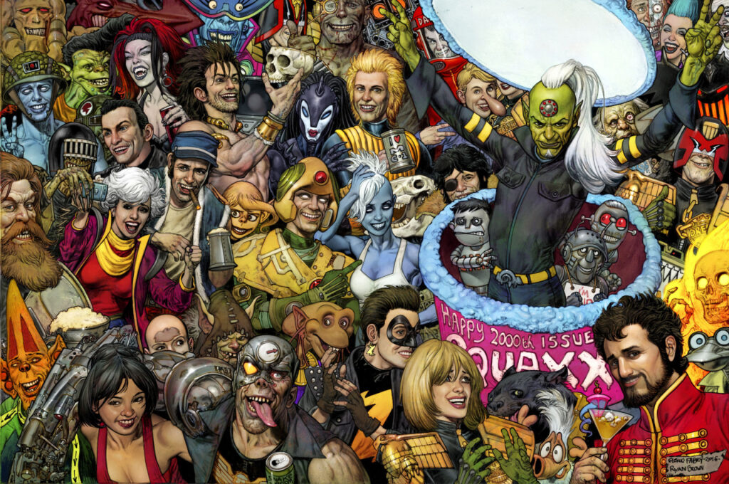 2000AD Covers Uncovered – Tonight we're gonna party like it's 2000!