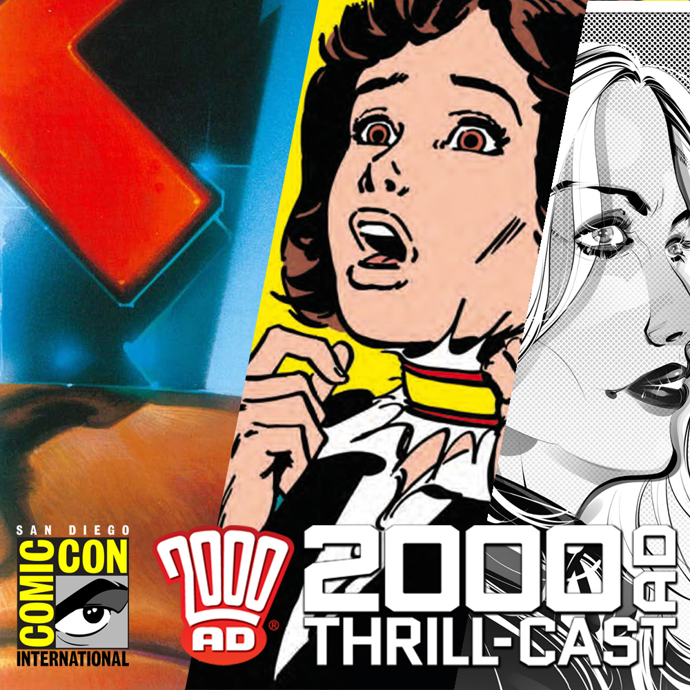 The 2000 AD Thrill-Cast: Dredd, girls' horror comics and the future! The 2000 AD panels at San Diego