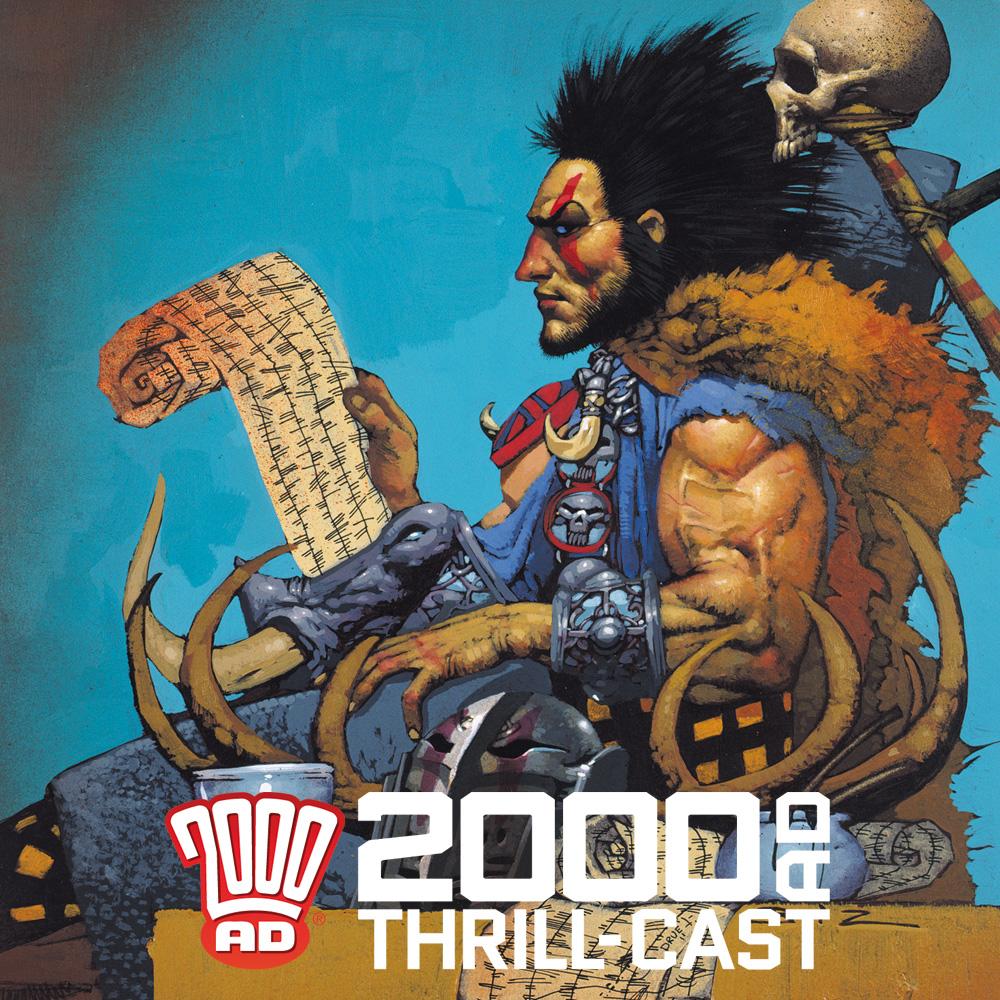 The 2000 AD Thrill-Cast: Sláine The Horned God