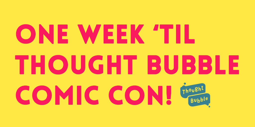 2000 AD comes to Thought Bubble this week!