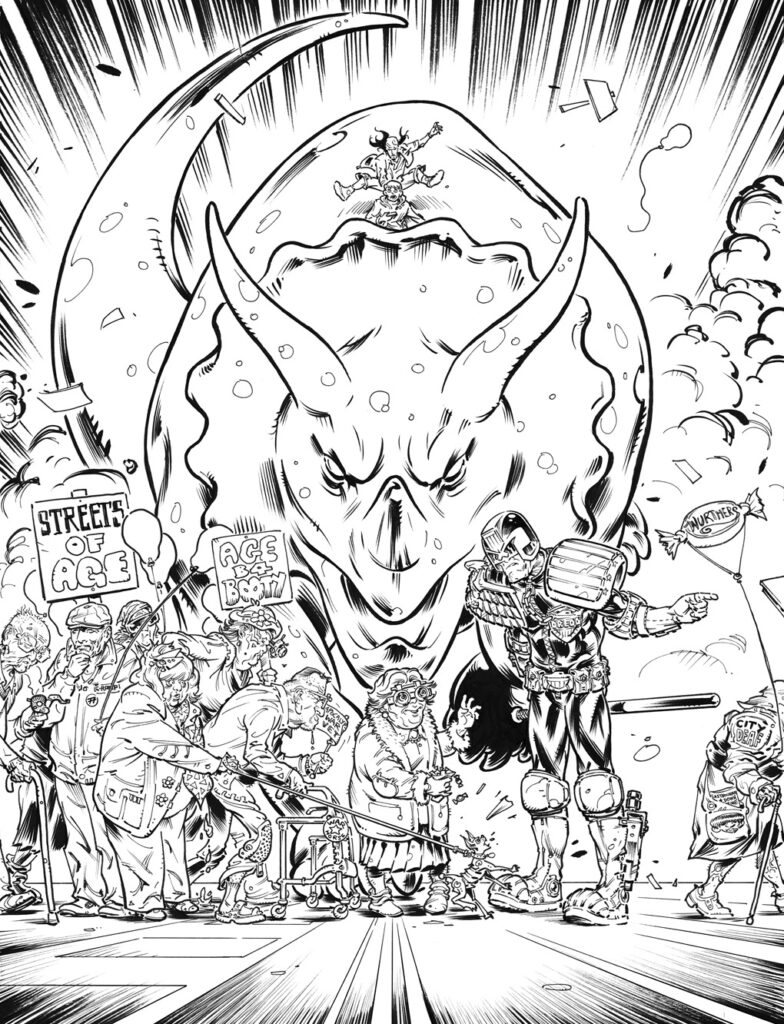 2000ad Covers Uncovered – Old Pink Eye!