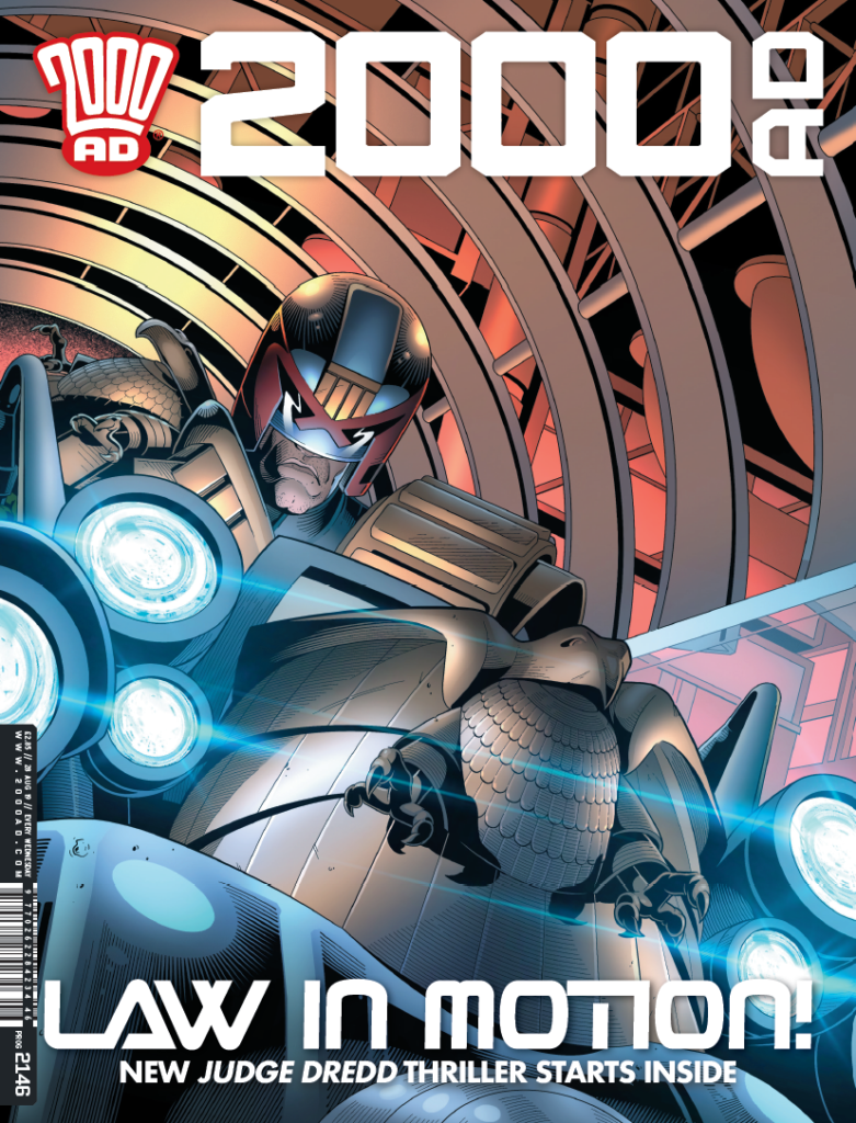 OUT NOW: 2000 AD Prog 2146