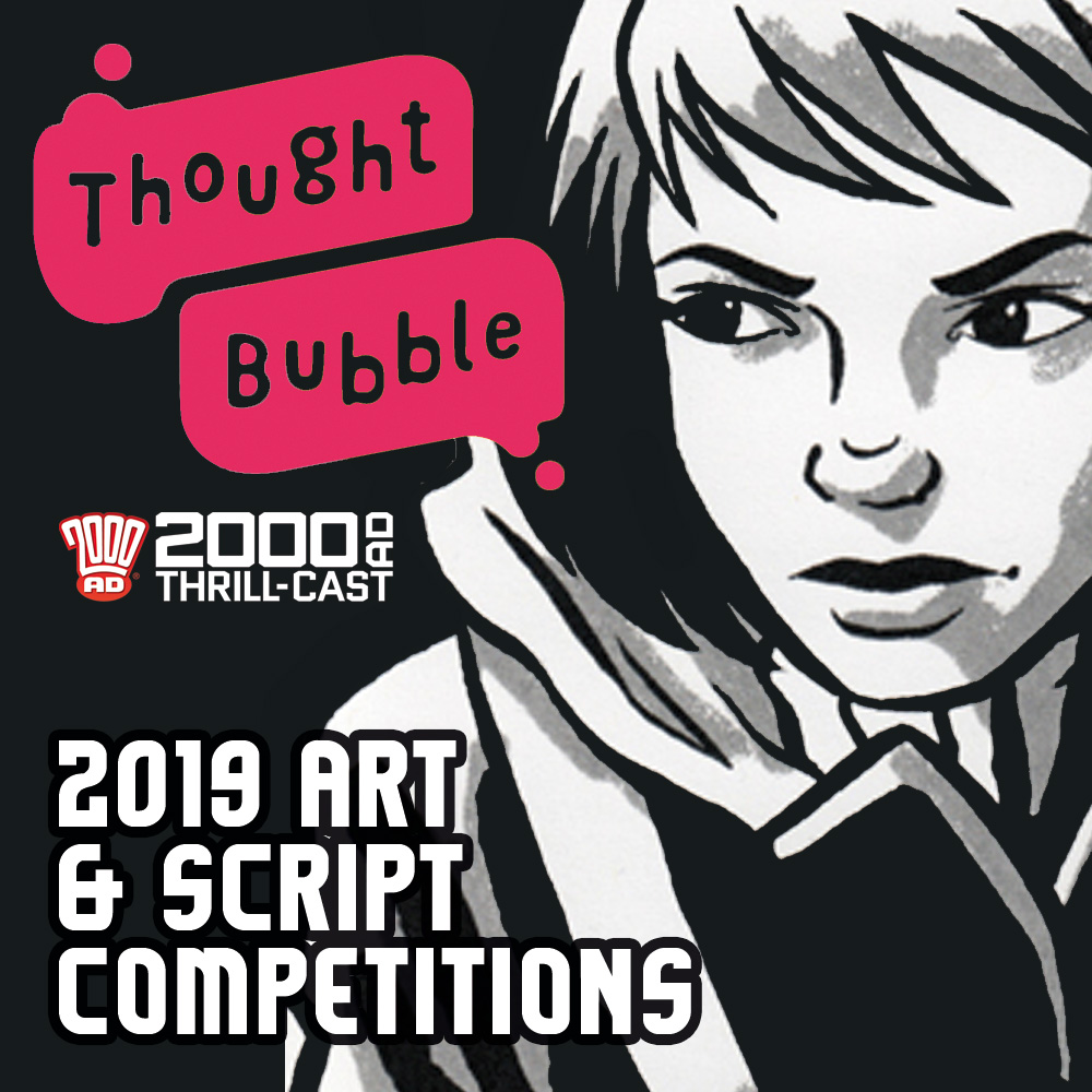The 2000 AD Thrill-Cast: New talent panels at Thought Bubble 2019