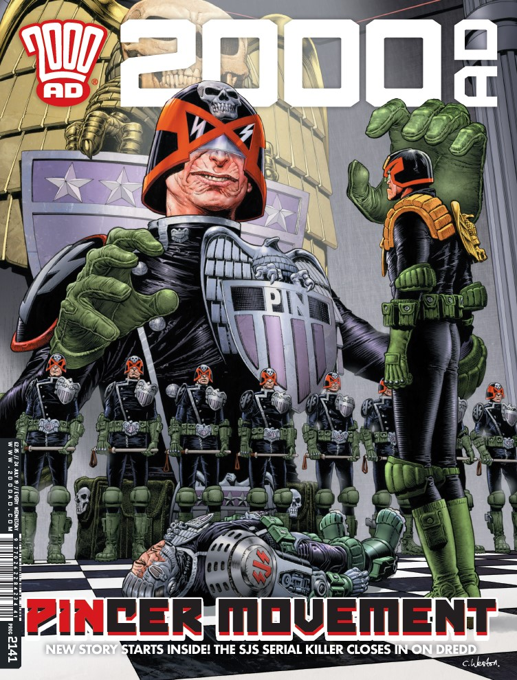 OUT NOW: 2000 AD Prog #2141