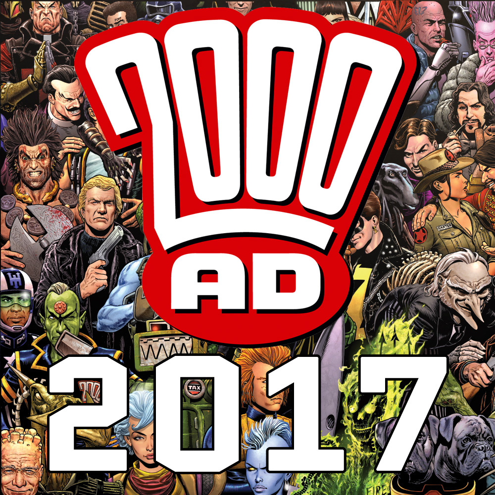 2000 AD announces 2017 graphic novel list for 40th anniversary year