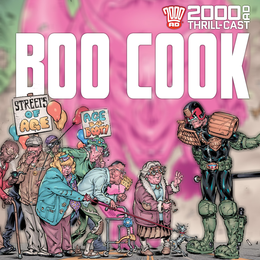 The 2000 AD Thrill-Cast: Boo Cook interview