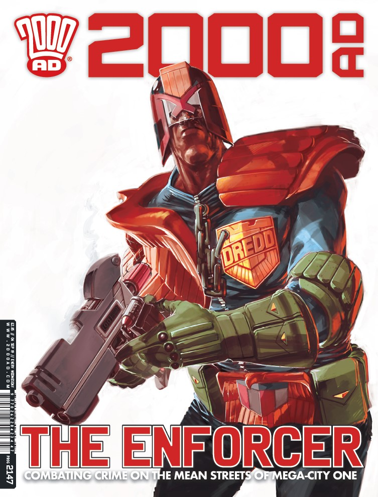 OUT NOW: 2000 AD Prog 2147