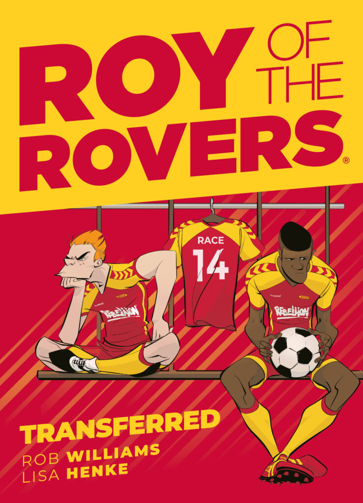 INTERVIEW – Rob Williams & Lisa Henke on Roy of the Rovers Season 2!