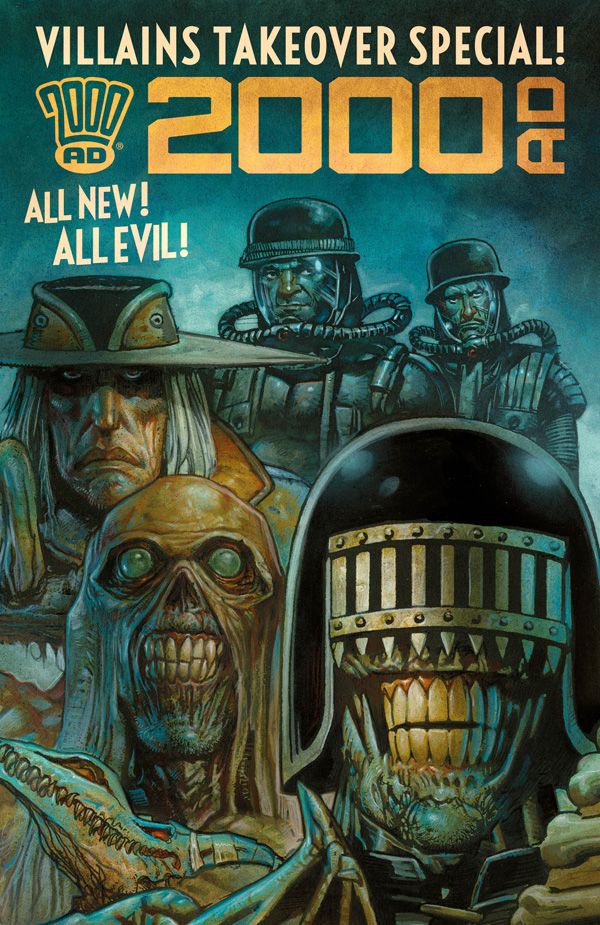 The villains are taking over 2000 AD this May!